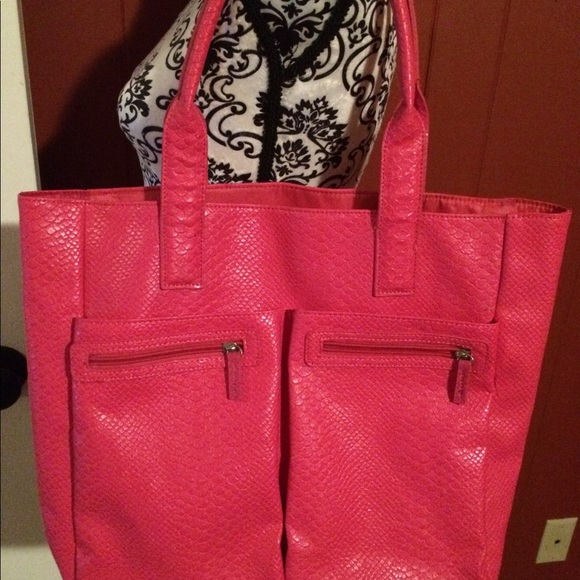 87b65926732 Neiman Marcus Limited Edition Pink Vinyl Tote Bags | Neiman Marcus ...